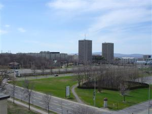 A view of the Laval University campus