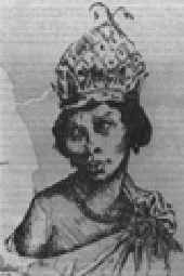 Nzinga Mbande, queen of the Ndongo and Matamba.