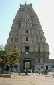 Virupaksha Temple, Hampi, India