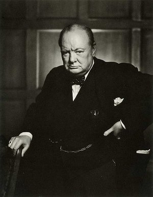 For his leadership during the Second World War, Winston Churchill was offered a dukedom at the end of his premiership in 1945. He declined, but did become a Knight of the Garter. (He once again became Prime Minister in 1951.)