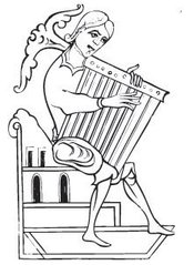 Picture of a Psaltery provided by Classroom Clip Art (http://classroomclipart.com)