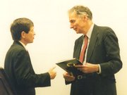 Ralph Nader (right) with .